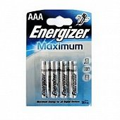 Батарейка Energizer Maximum AAA LR03 FSB4